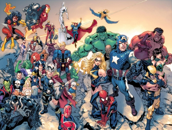 Marvel: Your Universe Poster (2008) #1