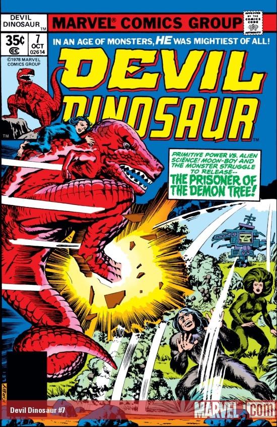 Devil Dinosaur (1978) #7