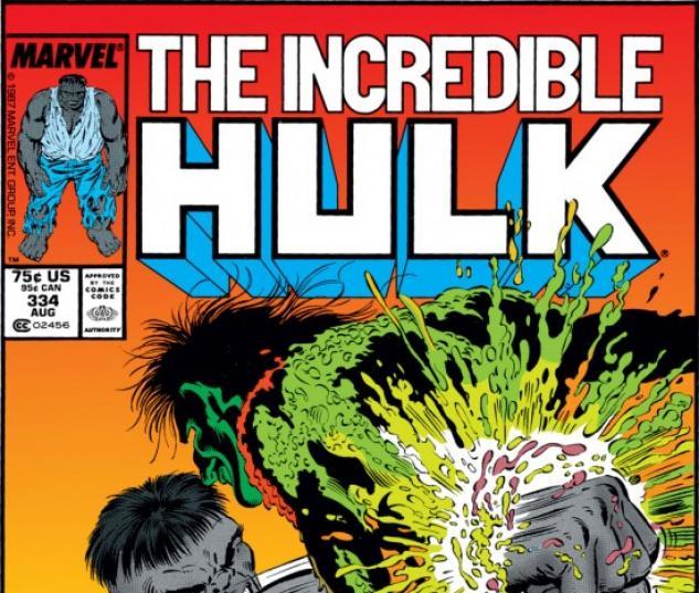 INCREDIBLE HULK (2009) #334 COVER