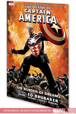 Captain America: The Death of Captain America Vol. 2 - The Burden of Dreams (Trade Paperback)