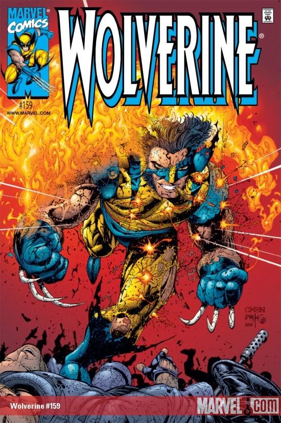Wolverine (1988) #159