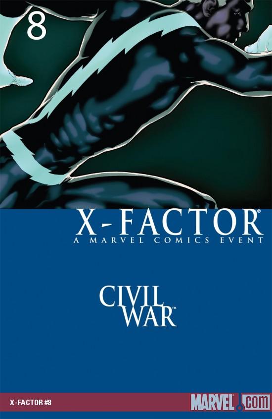 X-Factor (2005) #8