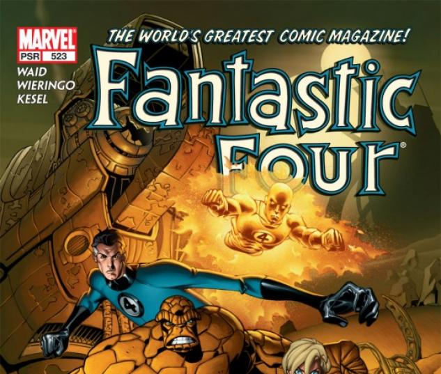 FANTASTIC FOUR (2006) #523 COVER
