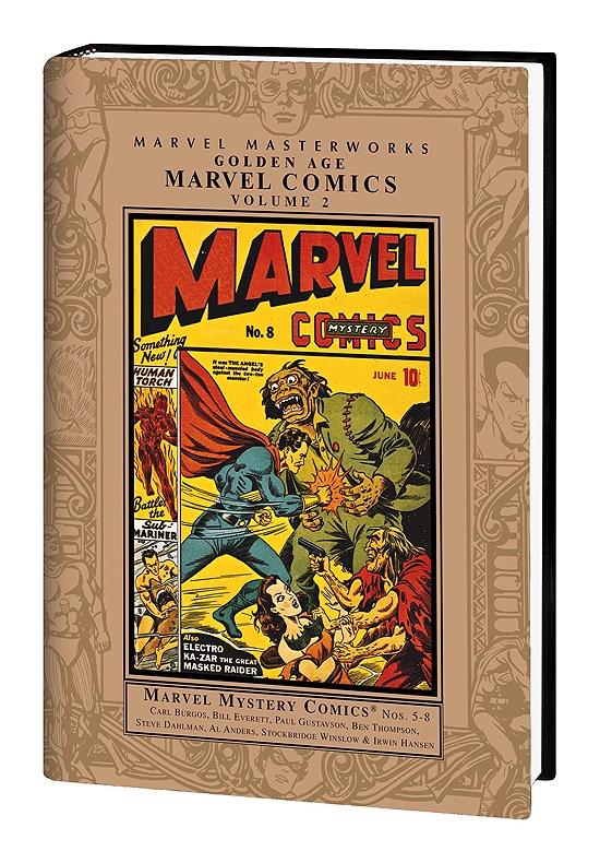 MARVEL MASTERWORKS: GOLDEN AGE MARVEL COMICS VOL. 2 HC (Hardcover)