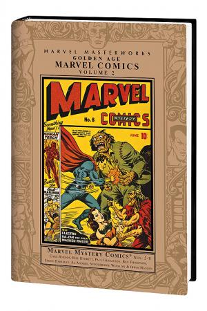 MARVEL MASTERWORKS: GOLDEN AGE MARVEL COMICS VOL. 2 HC (Hardcover)