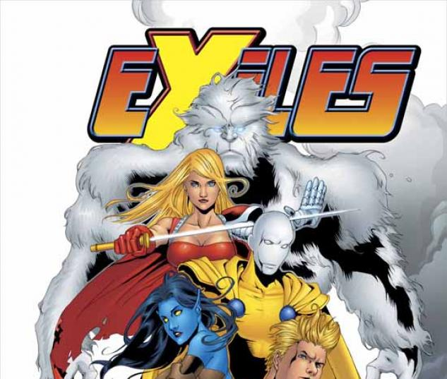 EXILES VOL. 7: A BLINK IN TIME TPB COVER