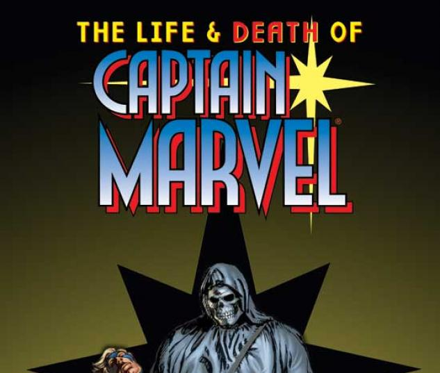 LIFE AND DEATH OF CAPTAIN MARVEL, THE TPB COVER