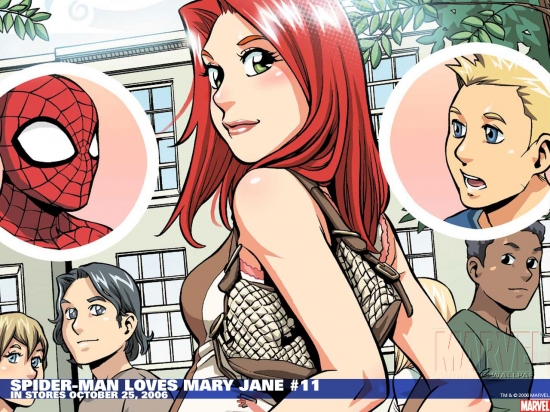 Spider-Man Loves Mary Jane (2005) #11 Wallpaper