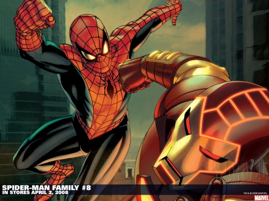 Spider-Man Family (2007) #8 Wallpaper
