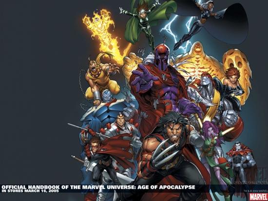 Official Handbook of the Marvel Universe (2004) #1 Wallpaper