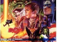 Marvel 1985 (2008) #1 (50/50 VARIANT) Wallpaper