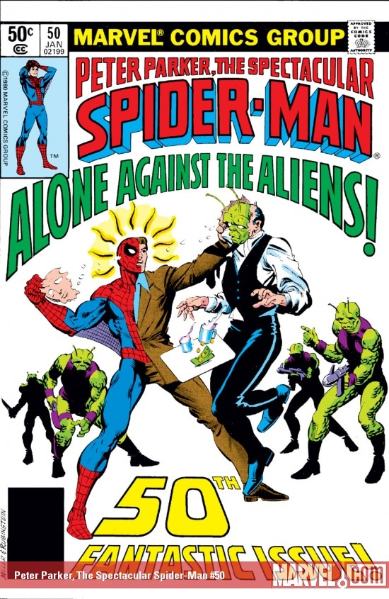 Peter Parker, the Spectacular Spider-Man (1976) #50
