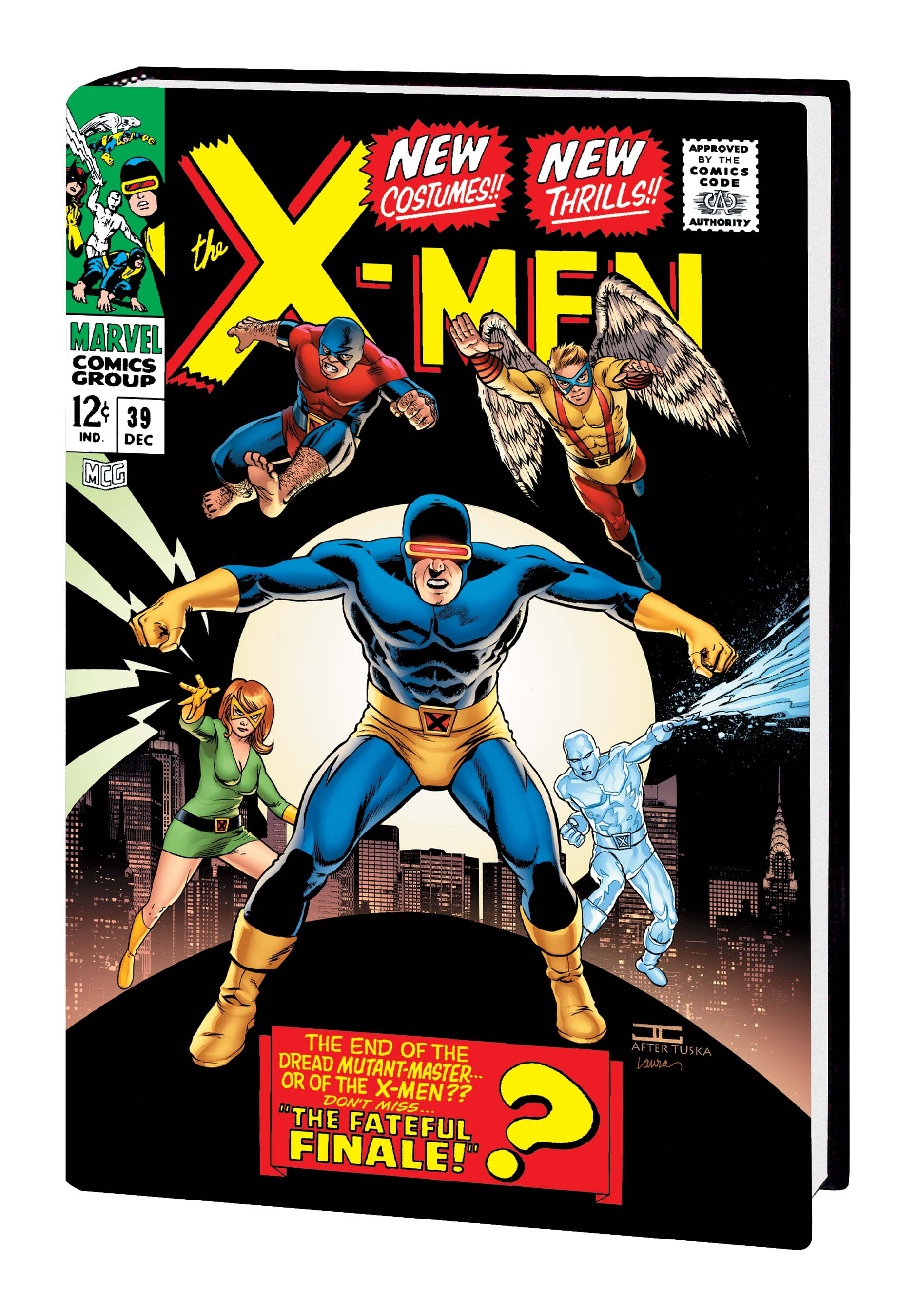 The X-Men Omnibus Vol. 2 (2010) (Cassaday Cover)