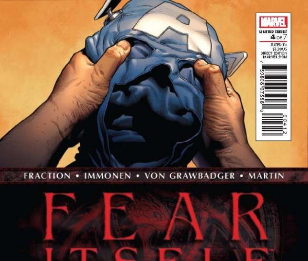 FEAR ITSELF 4 2ND PRINTING VARIANT