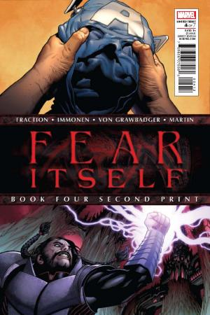 Fear Itself (2010) #4 (2nd Printing Varint)