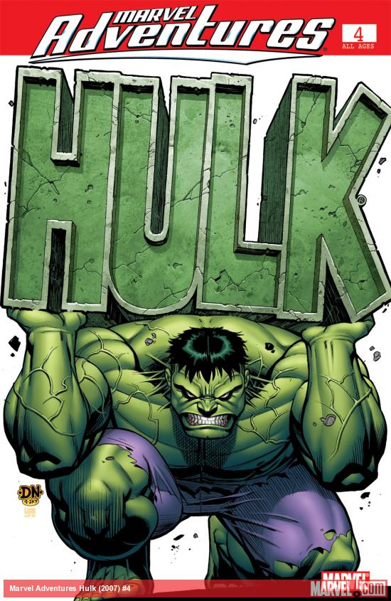 Marvel Adventures Hulk (2007) #4