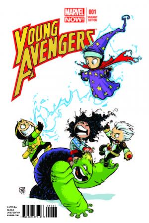 Young Avengers (2013) #1 (Young Variant)