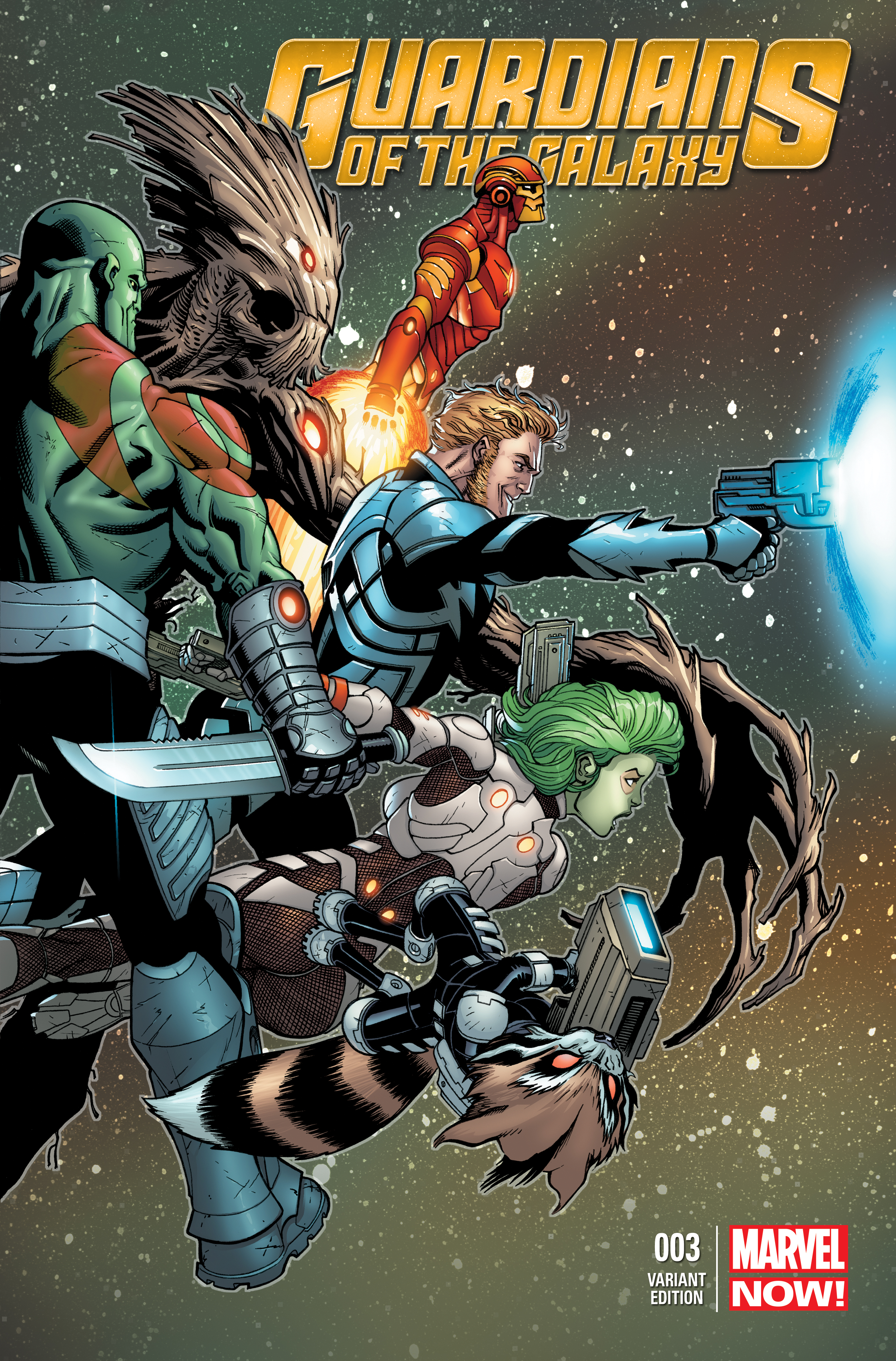 Guardians of the Galaxy (2013) #3 (Mcguinness Variant)