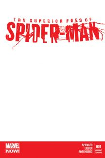 The Superior Foes of Spider-Man (2013) #1 (Blank Cover Variant)