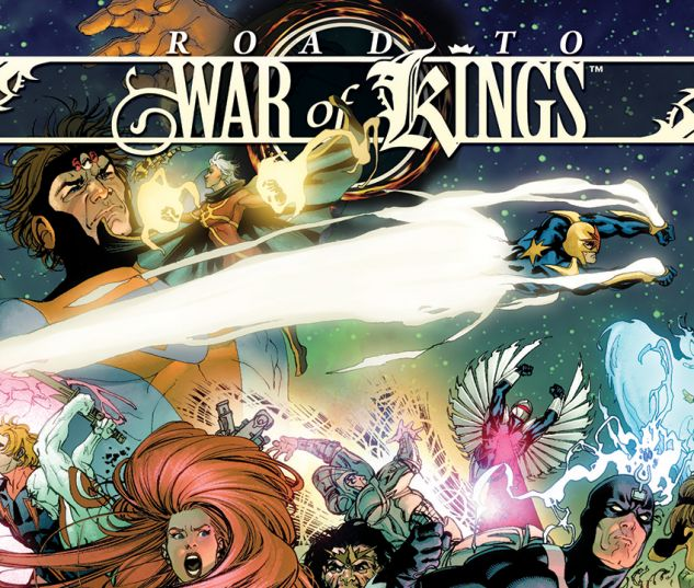 WAR OF KINGS: ROAD TO WAR OF KINGS (TRADE PAPERBACK) - cover art