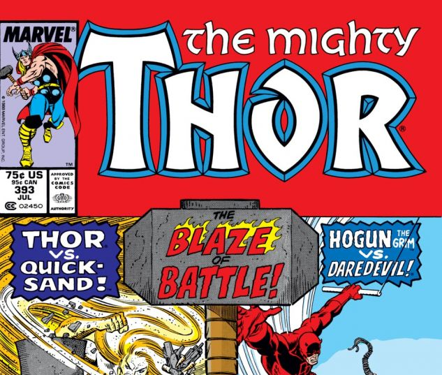 Thor (1966) #393 Cover