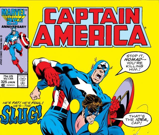 Captain America (1968) #325 Cover