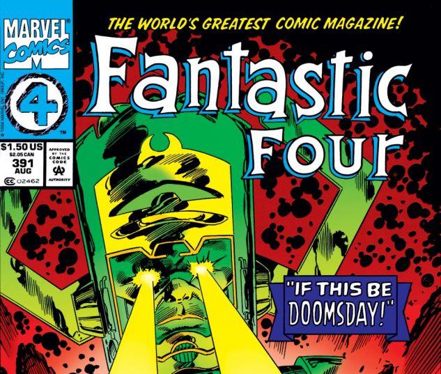 Fantastic Four (1961) #391 Cover