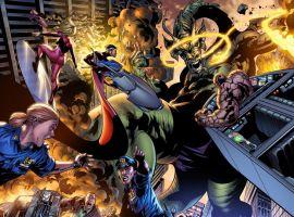 Fantastic Four (2014) #1 preview art by Leonard Kirk