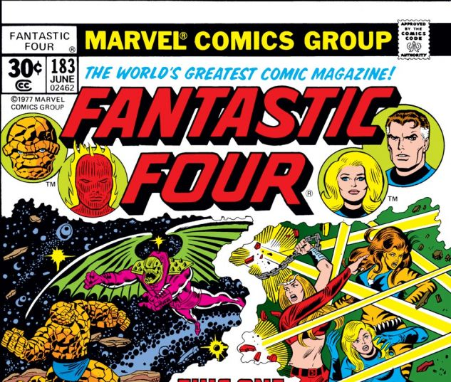 Fantastic Four (1961) #183 Cover