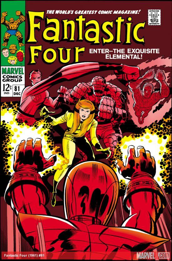 Fantastic Four (1961) #81