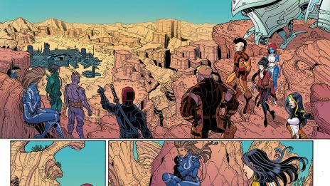 Wolverines #1 preview art by Alisson Borges and Nick Bradshaw