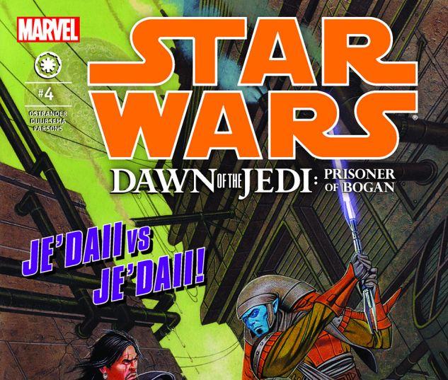 Star Wars: Dawn Of The Jedi - Prisoner Of Bogan (2012) #4