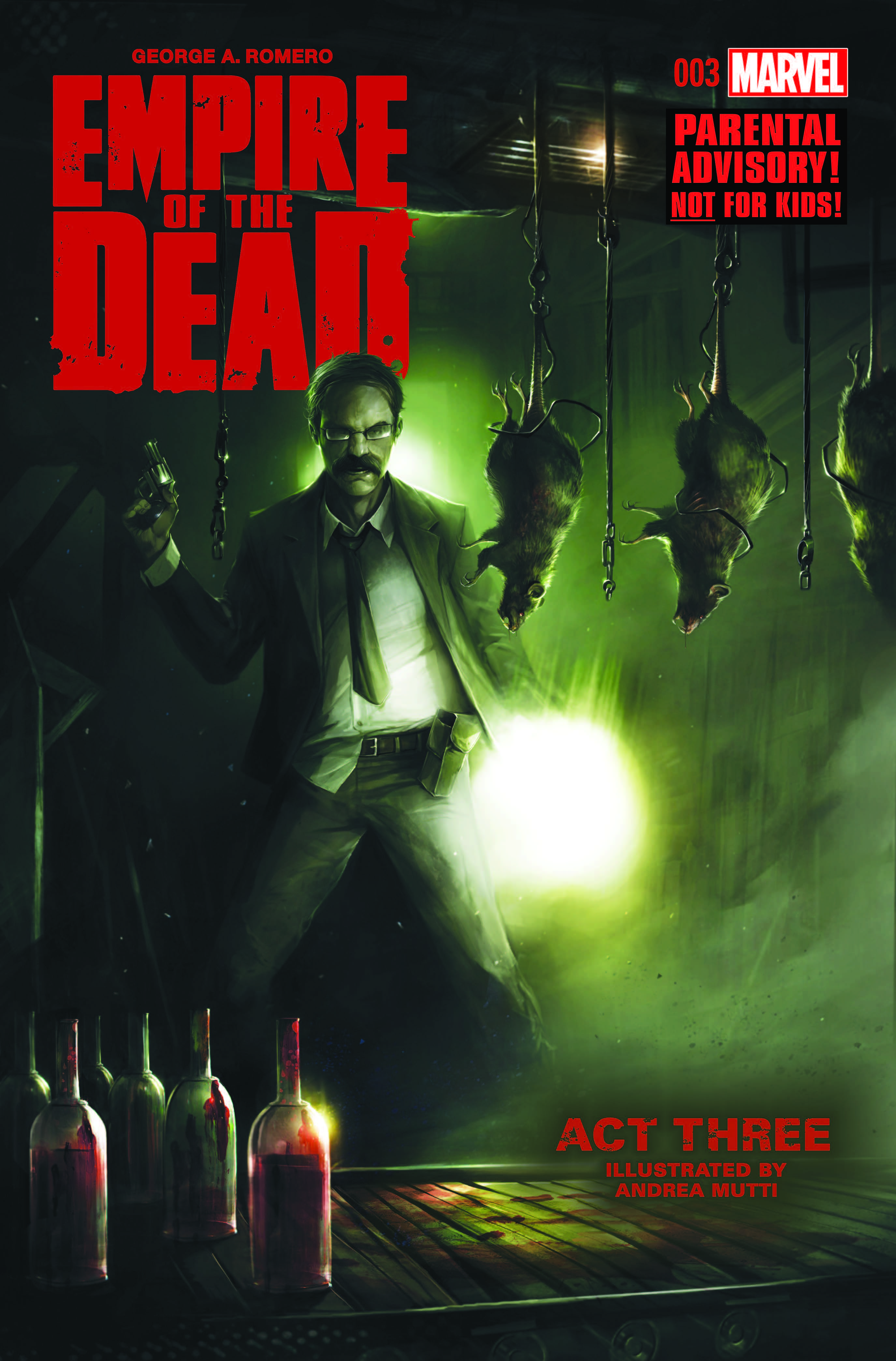 George Romero's Empire of the Dead: Act Three (2015) #3
