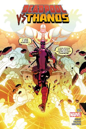 of 4 Deadpool vs Thanos #3 NEW!!!