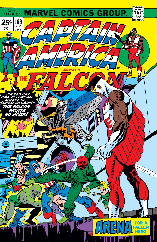 Captain America (1968) #189