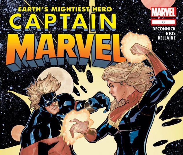 CAPTAIN MARVEL (2012) #6 Cover