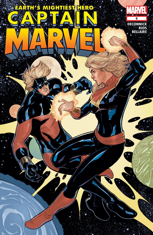 Captain Marvel (2012) #6