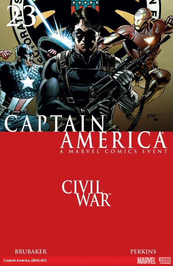 Captain America (2004) #23