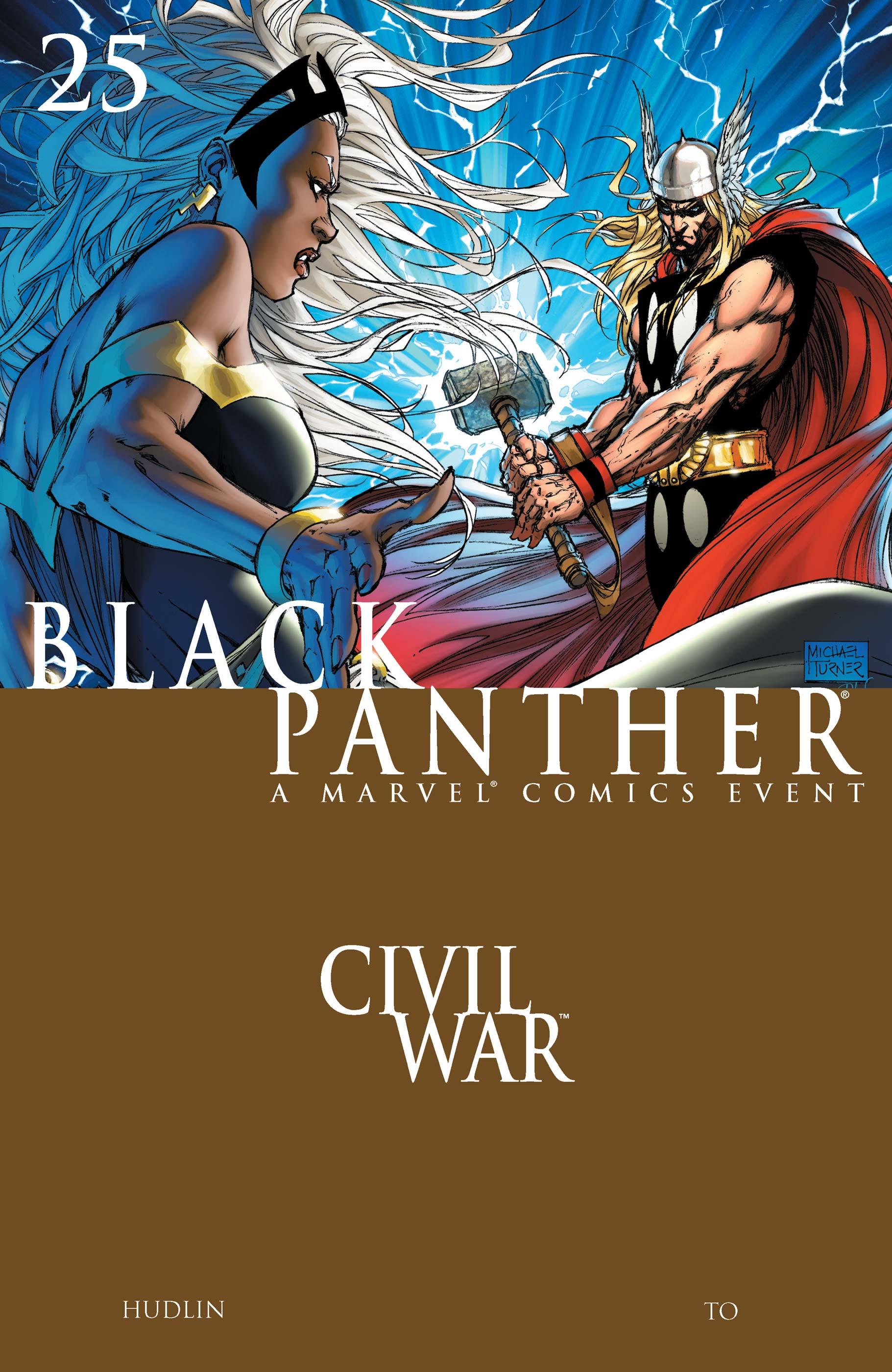 Black Panther (2005) #25