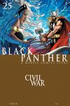 BLACK PANTHER (2005) #25 Cover
