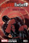 cover from Daredevil/Punisher: TBD Infinite Comic (2016) #3