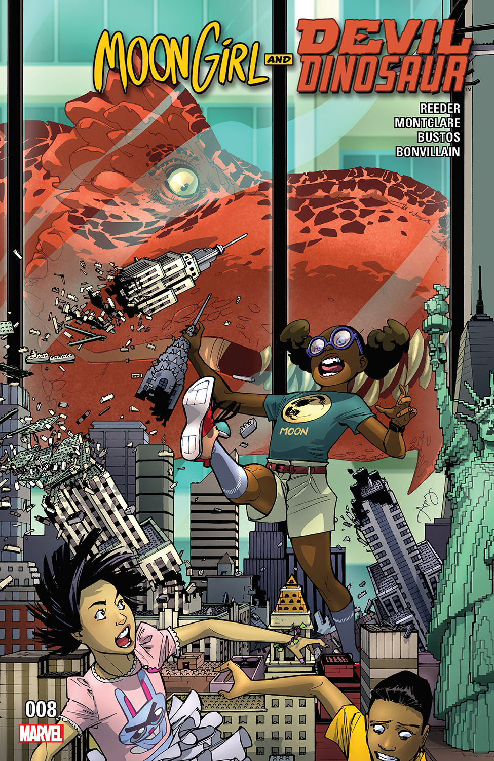 Moon Girl and Devil Dinosaur (2015) #8