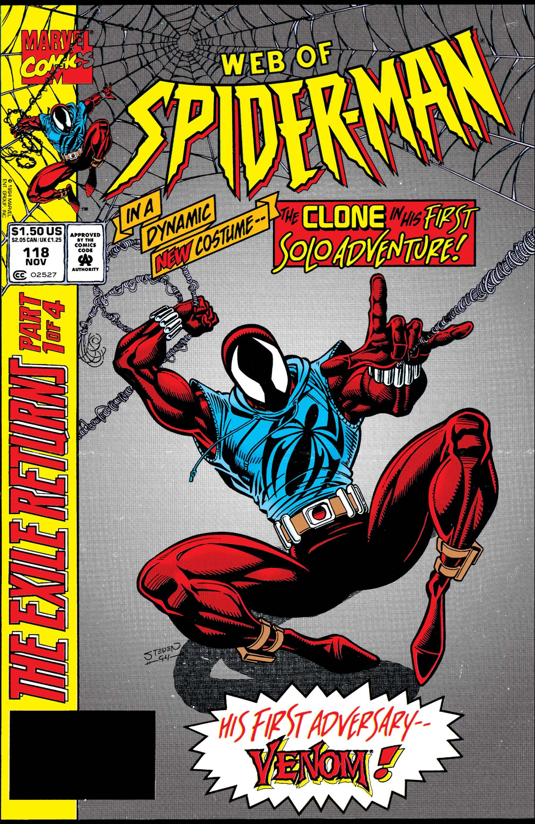 Web of Spider-Man (1985) #118