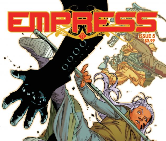 cover from Empress (2016) #5