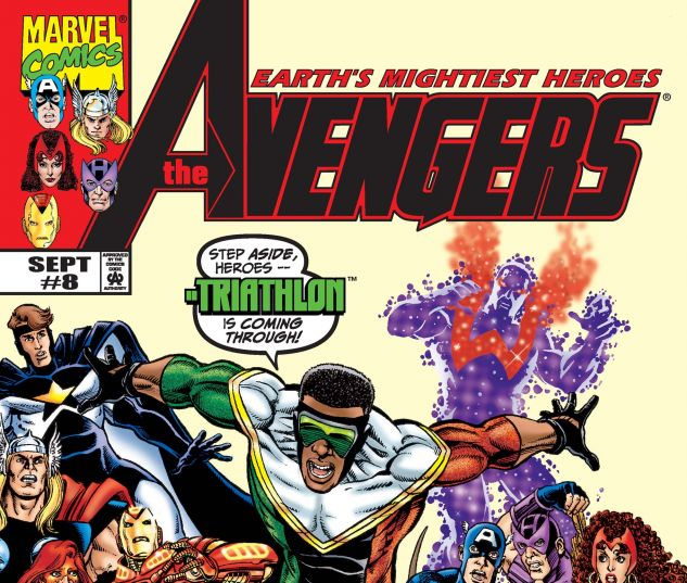 Avengers (1998) #8