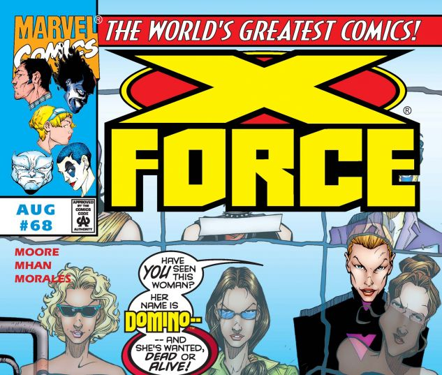 X-Force (1991) #68