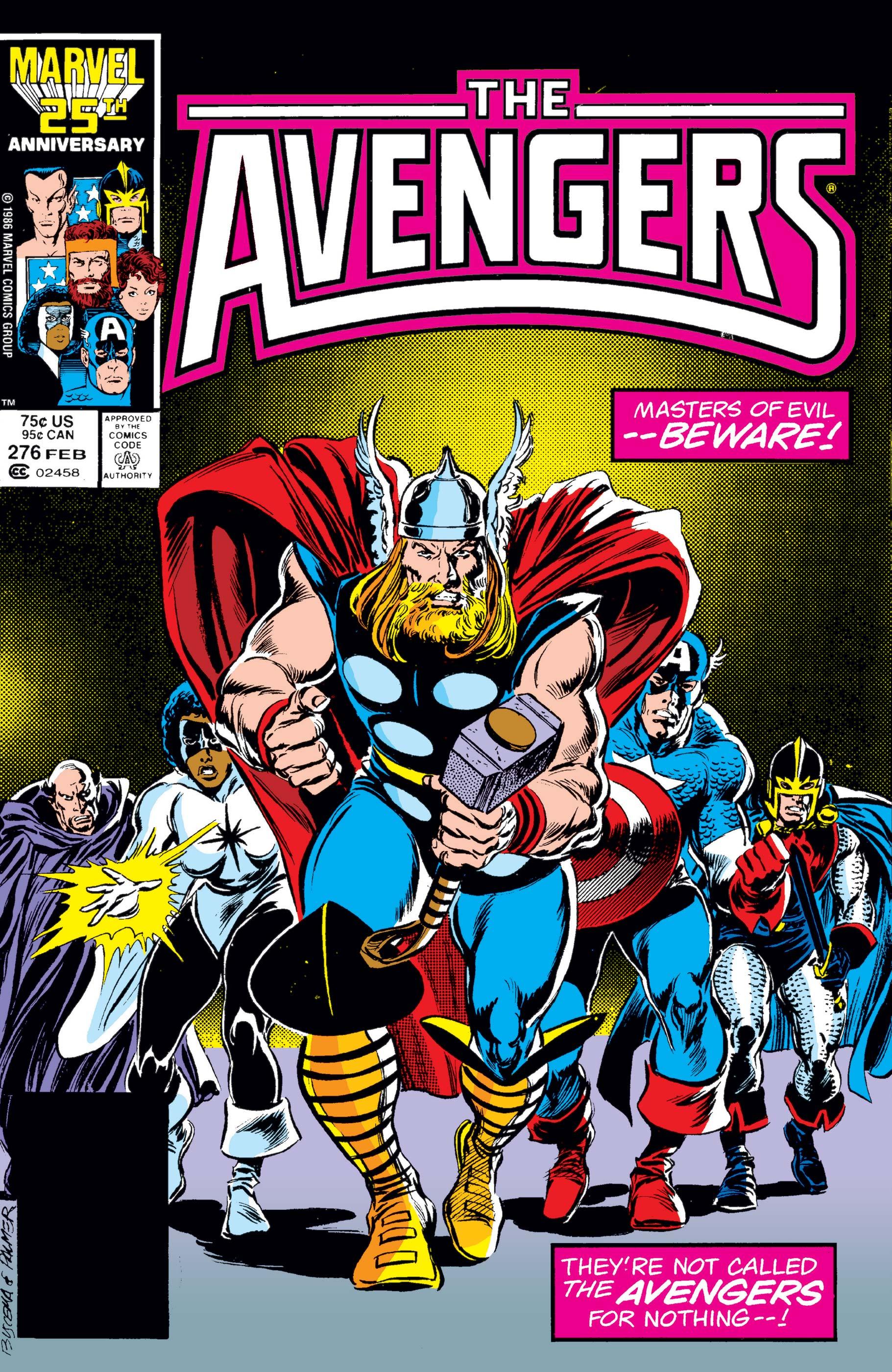 Avengers (1963) #276