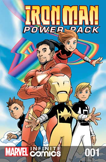 Iron Man and Power Pack (2017) #1