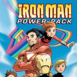 Iron Man and Power Pack