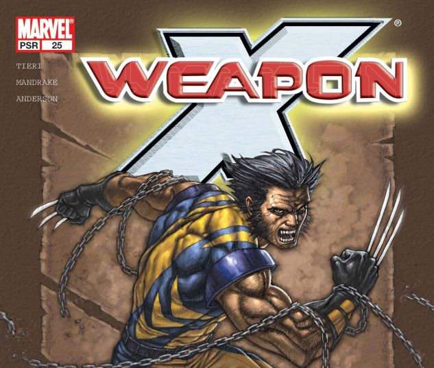 WEAPON X (2002) #25